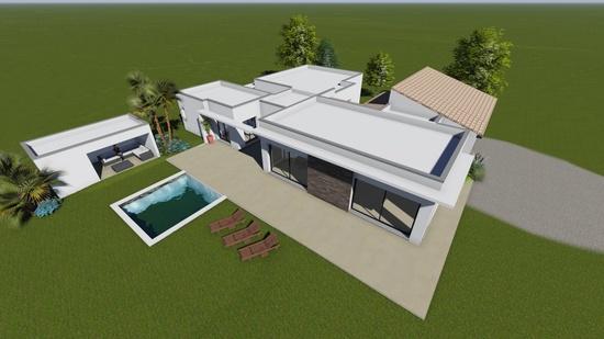 Maison moderne Orange