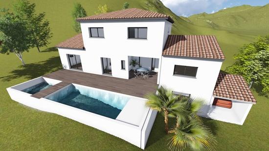 Villa à étage